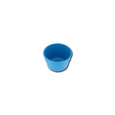 GALLIPOT / LOTION BOWL 60 mm - plast - stupnice 50 ml