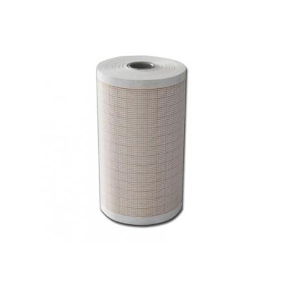 Tepelný papír EKG 80x25 mm xm role - oranžová mřížka