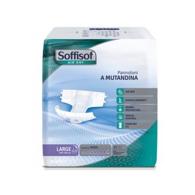 SOFFISOF AIR DRY INCONTINENCE PAD - těžká inkontinence - velká