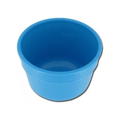 GALLIPOT / LOTION BOWL 150 mm - plast - stupnice 500 ml