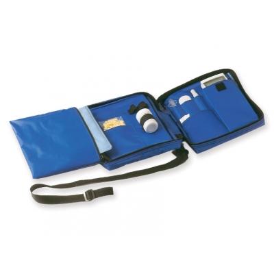 DIABETICKÁ TAŠKA prázdná - nylonová modrá
