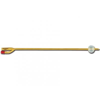 FOLEY 2-WAY LATEX CATHETER ch / fr 16 - kulička 5-10 ml - sterilní
