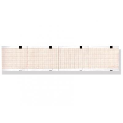 Tepelný papír EKG 63 x 75 mm x 400 s - oranžová mřížka