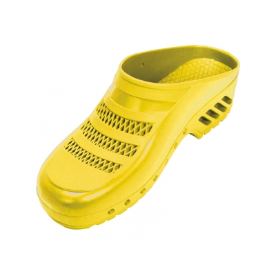GIMA CLOGS - s póry - 43-44 - žlutá