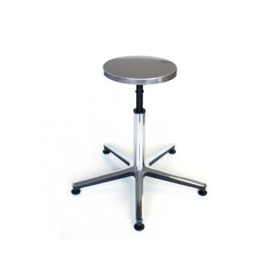 STOOL - sedadlo, hliníkový podstavec s nohou