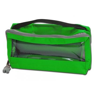 E3 RECTANGULAR BAG polstrovaný oknem a rukojetí - zelená
