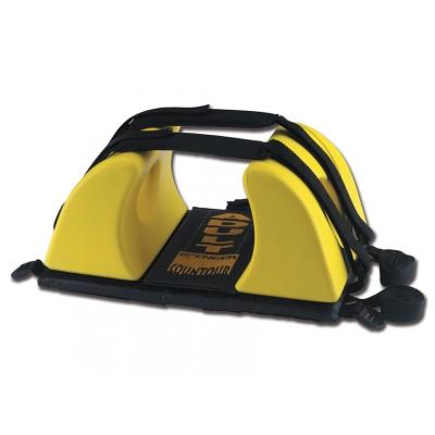 CONTOUR HEAD IMMOBILIZER - černá / žlutá