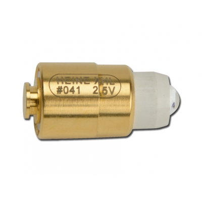 HEINE 041 BULB 2,5V pro Fibralux, Mini 2000, Mini 1000