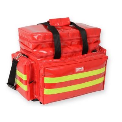 SMART BAG PVC potažené - střední - červené