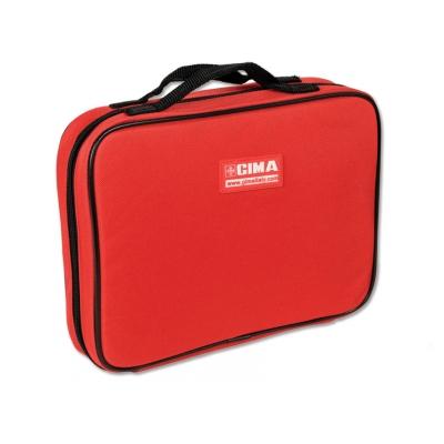 MAXI VIALS BAG - nylonově červená
