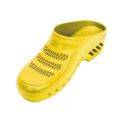 GIMA CLOGS - s póry - 41-42 - žlutá