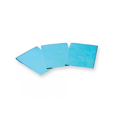 VYLOŽENÉ NAPKINY - 33 x 45 cm světle modré