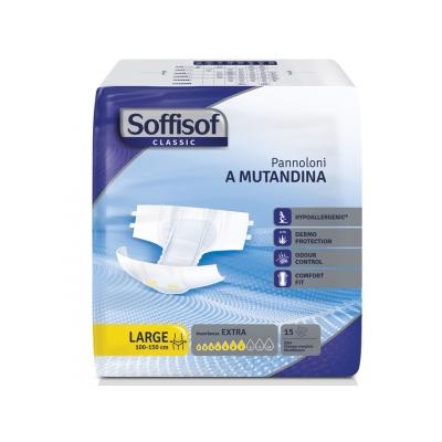 SOFFISOF CLASSIC INCONTINENCE PAD - mírná inkontinence - velká
