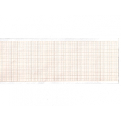 Tepelný papír EKG 80x20 mm xm role - oranžová mřížka