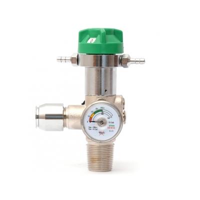 Integrovaný redukční ventil s ventilem - UNI pro 2/3 litrové válce