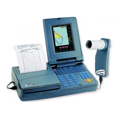 SPIROLAB III DIAGNOSTIC COLOR SPIROMETER s tiskárnou a softwarem
