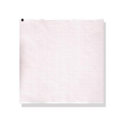 EKG termický papír 210 x 280 mm x 215 s - oranžová mřížka