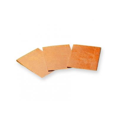 VYLOŽENÉ NAPKINY - 33x45 cm oranžové