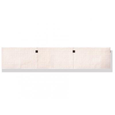 EKG termický papír 60 x 100 mm x 300 s - oranžová mřížka