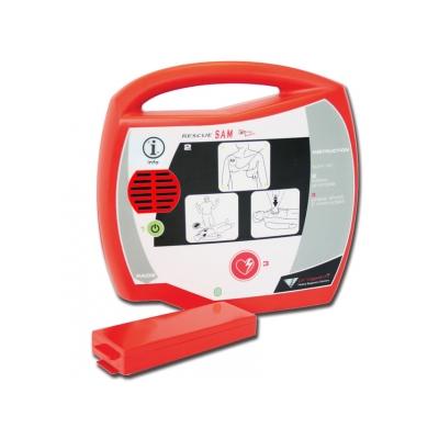 RESCUE SAM AED DEFIBRILLATOR - francouzština