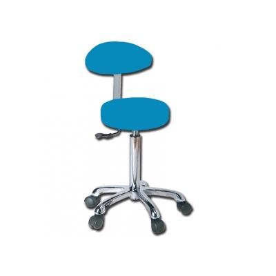 STOOL s opěradlem - modrá