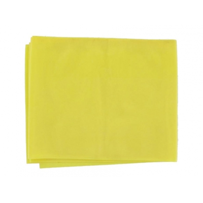 LATEX-FREE EXERCISE BAND 1.5 m x 14 cm x 0.20 mm - yellow