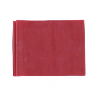 LATEX-FREE EXERCISE BAND 1.5 m x 14 cm x 0.30 mm - red