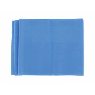 LATEX-FREE EXERCISE BAND 1.5 m x 14 cm x 0.35 mm - blue