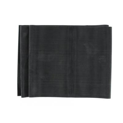 LATEX-FREE EXERCISE BAND 1.5 m x 14 cm x 0,40 mm - black