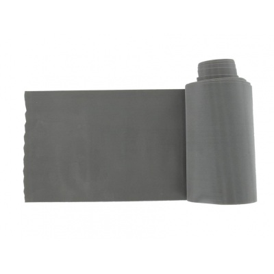 LATEX-FREE EXERCISE BAND 5.5 m x 14 cm x 0.50 mm - grey