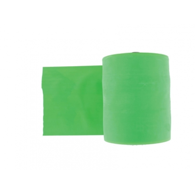LATEX-FREE EXERCISE BAND 45 m x 14 cm x 0.25 mm - green
