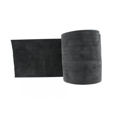 LATEX-FREE EXERCISE BAND 45 m x 14 cm x 0,40 mm - black